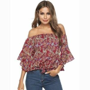 Casual-Short-Sleeve-T-Shirt-Tops-Jumper-New-Solid-Loose-Pullover-Elegant-Blouse