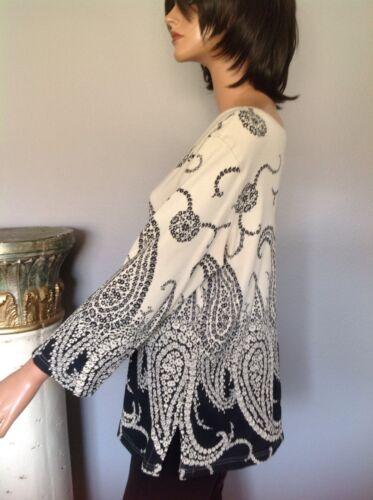 14 Elements Cotton Paisley Chic Hip Top 16 Women's L Classic Designer Fashion w7qPRnt1n