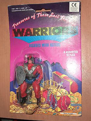 80's VINTAGE MOTU KO TREASURES OF THOSE LOST TEMPLES WARRIORS FIGURE MOC 11