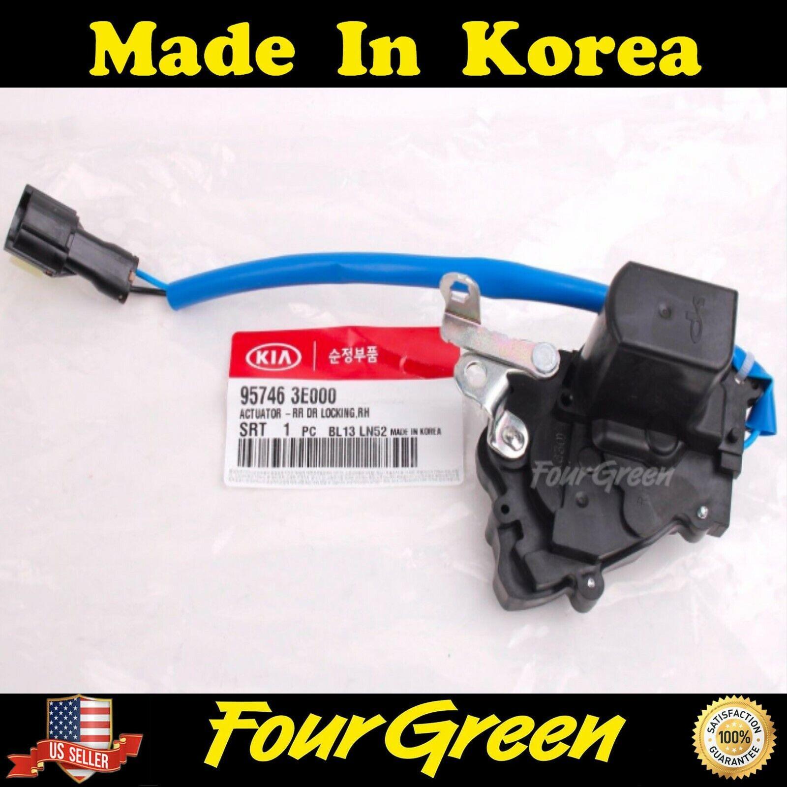 957463E000 Genuine Door Lock Actuator Rear Right for Kia 03-09 Sorento OEM