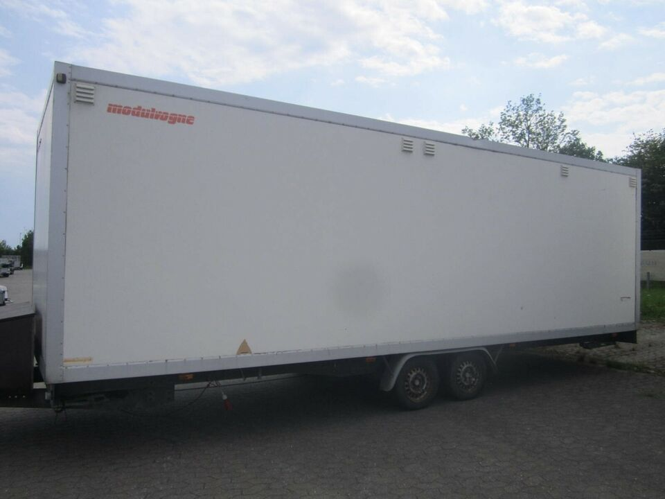 Trailer Variant 735 Beboelsevogn med 4 Køjer, lastevne