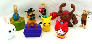 McDonald-Happy-Meal-Peter-Rabbit-Pikachu-Scooby-Doo-Spiderwick-Promotional-Toy