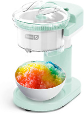 Dash Shaved Ice Maker Slushie Machine With Stainless Steel Blades For Snow Con
