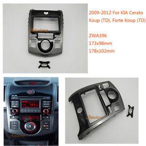 car fitting kit installation radio fascia for kia cerato. Black Bedroom Furniture Sets. Home Design Ideas