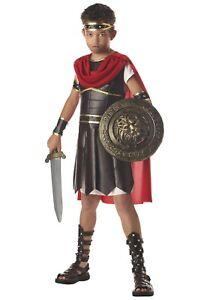 Size 6 8 Small Kid Kids Boy Gladiator Hercules Warrior Roman