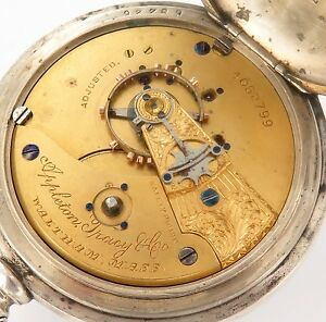 RARE-c1889-APPLETON-TRACY-amp-Co-WALTHAM-18S-15J-BAY-STATE-IMPERIAL-COIN-P-WATCH