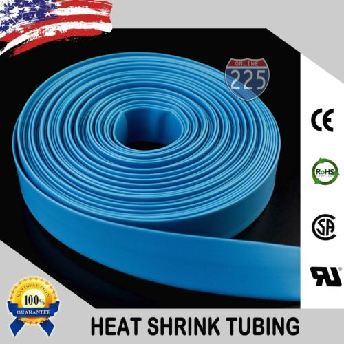 """25 FT 25/' Feet BLUE 3//16/"""" 5mm Polyolefin 2:1 Heat Shrink Tubing Tube Cable US"""