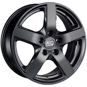 ALLOY-WHEEL-MSW-MSW-55-8-5x19-ET-45-HONDA-CIVIC-TYPE-R-5x114-30-MATT-DARK-GR