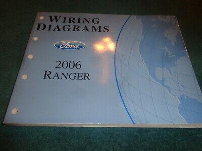 2006 ford ranger wiring diagram shop manual / original service book  ebay