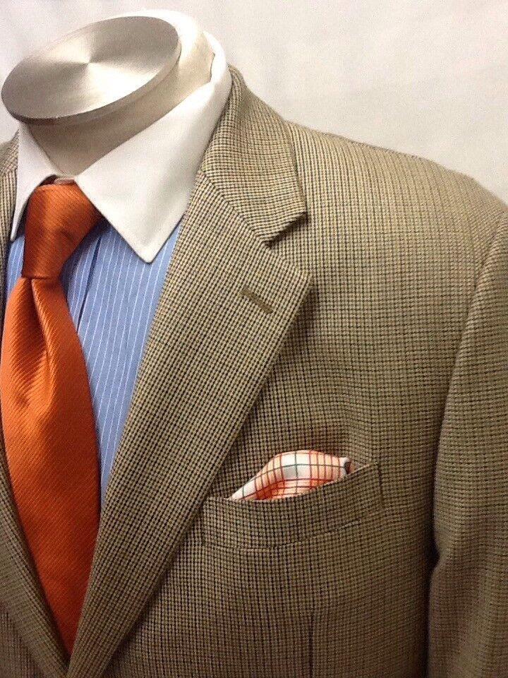 Mens CHAPS multi color sport coat sz 42S - image 3