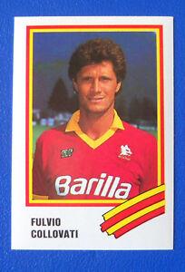 FIGURINA-EUROFLASH-CALCIO-89-N-244-COLLOVATI-ROMA-new
