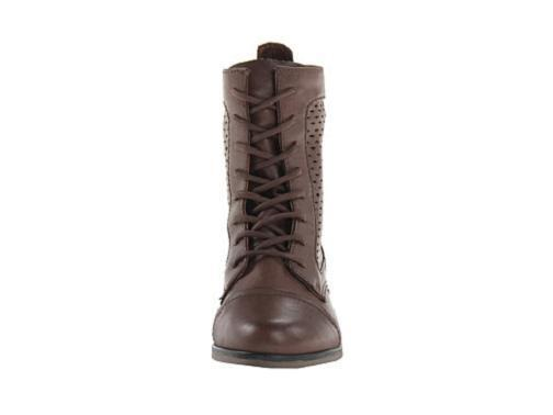 Madden Girl brown Addyson ankle boot lace up brown Girl 7 Med NEW e6399f