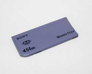 Original-Sony-64MB-Memory-Stick-MS-Long-MS-For-Sony-Camera-Old-Model-MSA-64A