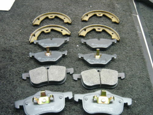ROVER  MG ZT 160 BRAKE PADS HB SHOES FRONT REAR
