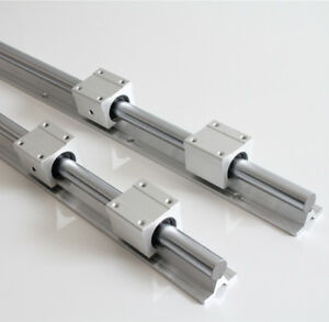 Uk Stock SBR12/16/20/25 1500mm 1.5M Linear Rail Slide Guide Rod + Bearing Block