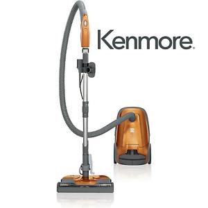 Kenmore-81214-200-Series-Bagged-Canister-Vacuum-Orange-Brand-New