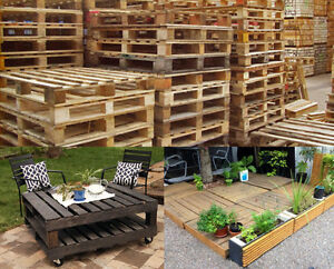 Image Is Loading Wooden Shipping Pallets Variety Of Uses Decking Furniture