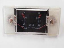 Dual = Twin = Sterio Vu Level Panel Meter 200uA fsd EN22