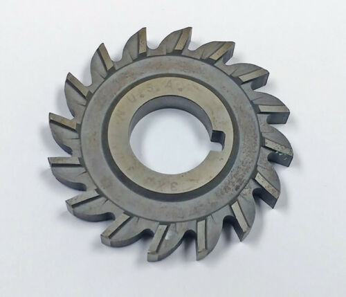 ".025/"" Radius MF480292 +.010/"" // -.025/"" 3 x 3//8/"" x 1/"" HSS Side Milling Cutter"