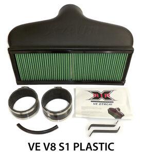 Commodore-VE-V8-S1-CAPA-X-Air-OTR-Cold-Air-Intake-Induction-Plastic-xair
