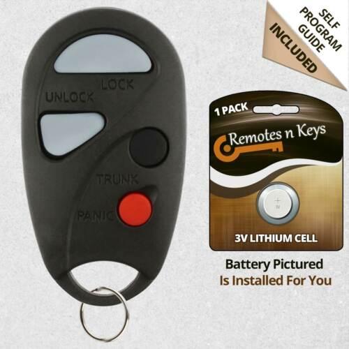 Car Transmitter Alarm Remote Key Fob Control for 2000 2001 Nissan Maxima