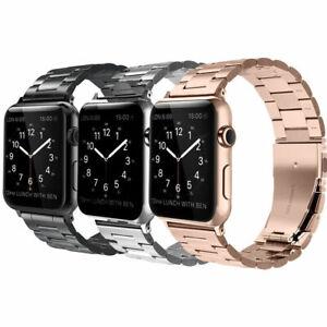 For Apple Watch Series 5 44mm Bands Stainless Steel Strap Wrist Bracelet Ebay