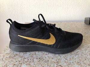 best loved 9d0cb 43ea6 Image is loading Nike-Dualtone-Racer-Mens-918227-007-Black-Metallic-