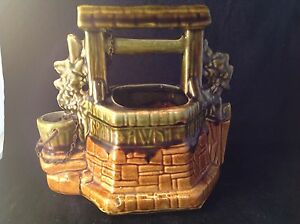 Vintage-McCoy-Pottery-Oh-Wishing-Well-Grant-A-Wish-To-Me