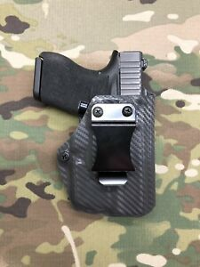 Armor Gray Kydex Dual Magazine Carrier for Glock 43