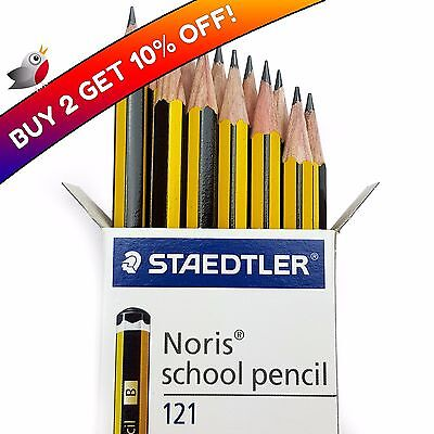 6 x Packs of 12 Pencils /& 2 x FREE Sharpeners 72 HB Pencils