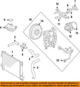 kia oem 10 11 soul radiator engine coolant filler neck 253292k000 ebay rh ebay com Kia Sedona Parts Diagram 2000 Kia Sportage Engine Diagram