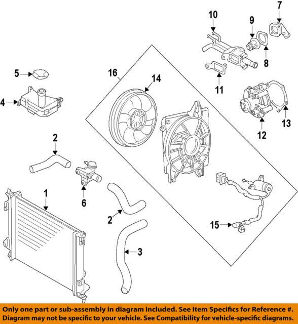 Automotive Radiator Engine Coolant Filler Neck 253292k000 For Kia Soul 2009 2011 Techno Com Ar