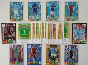 2019-20-English-Premier-League-Cards-Lot-of-50-cards-incl-10-Shiny