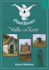 Ghost Hunter Walks in Kent,Matthews, Rupert,New Book mon0000060053