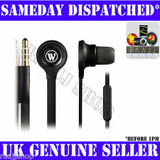IN-EAR HEADPHONES EARPHONES WITH MIC + REMOTE + VOLUME CONTROL FOR IPHONE 3GS 4
