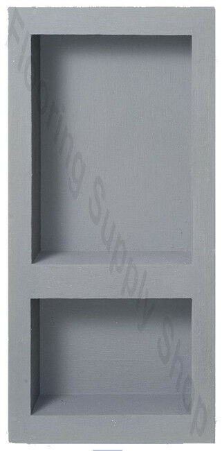 Preformed Ready to Tile Narrow Combo Niche 10 x 21 Made in the USA