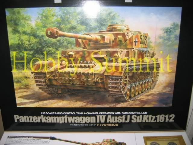 Tamiya 1 16 R C WWII  German PANZER IV Ausf J  Tank  Full Option Kit