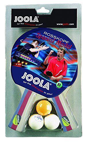Joola modèle tennis de table set avec 2 chauves-souris rosskopf modèle Joola spécial-multi-couleur 109d53