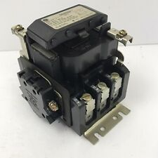 Ge Motor Starter Contactor Cr305d0 Size 2 120v Coil Cleaned Amp Power Tested