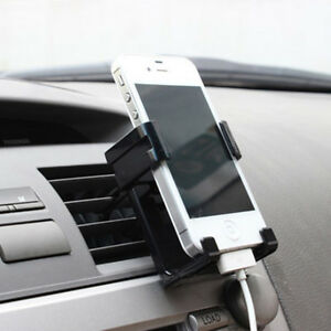 Universal Car Air Vent Mount Cradle Holders Stand For Smart Mobile Phone GPS Set