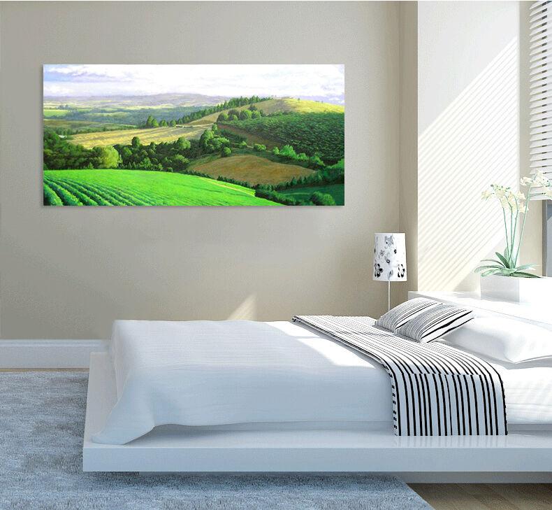 3D Grne Felder 344 Wandbild Fototapete BildTapete Familie AJSTORE DE