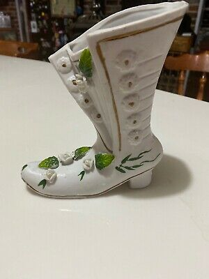 CERAMIC BISQUE OLD FASHION SHOES