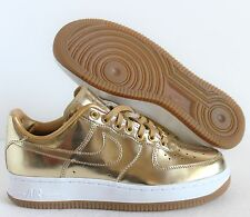 Nike Men Air Force 1 Premium ID Liquid Bronze Rose Gold Sz