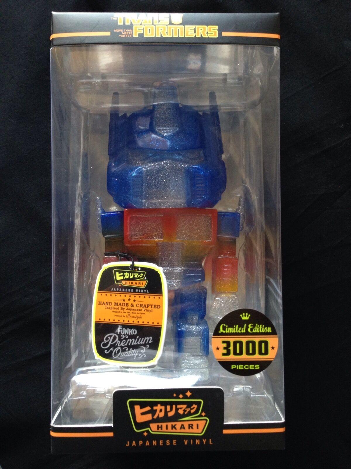 Transformers Optimus Prime Clear Glitter Hikari Figure Ready to Ship