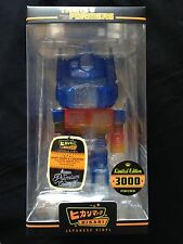 Transformers Optimus Prime Clear Glitter Hikari Figure *Ready to Ship*