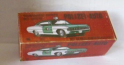 Spielzeug Gelernt Repro Box Ichiko Polizei-auto Mit Sirene üBerlegene Leistung