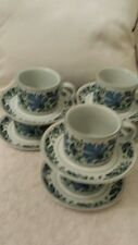 6 x vitage 1970s midwinter stonehenge caprice cups and saucers