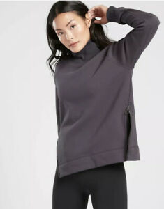 Athleta-Cozy-Karma-Zip-Funnel-Neck-Fleece-Inside-Size-Medium