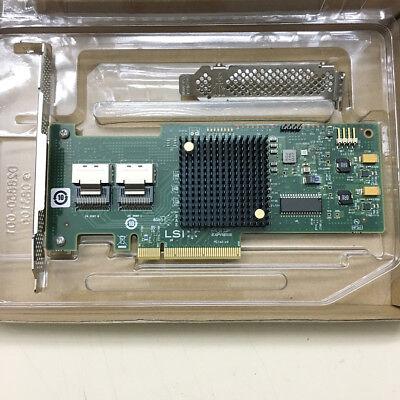 LSI SAS 9210-8i 8-port 6Gb//s PCIe x8 HBA RAID SATA Controller card=M1015 9211-8I