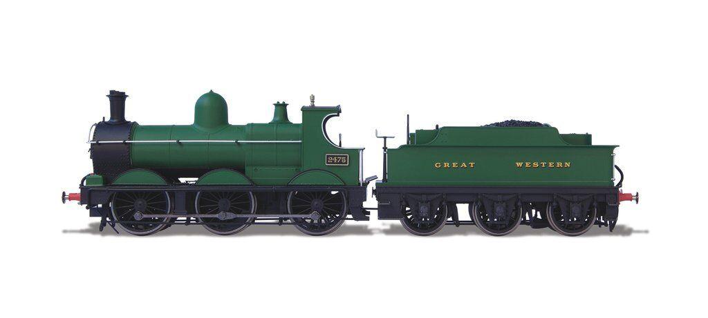 OXFORD RAIL DEAN GOODS 2475 LOCOMOTIVE PLAIN GWR OR76DG003